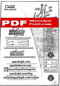 Download Naey Ufaq Digest september 2015 in PDF