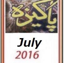 Pakeezah Digest July 2016